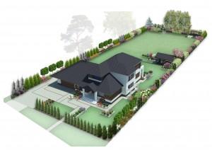Aranżacja ogrodu w zabudowie szeregowej