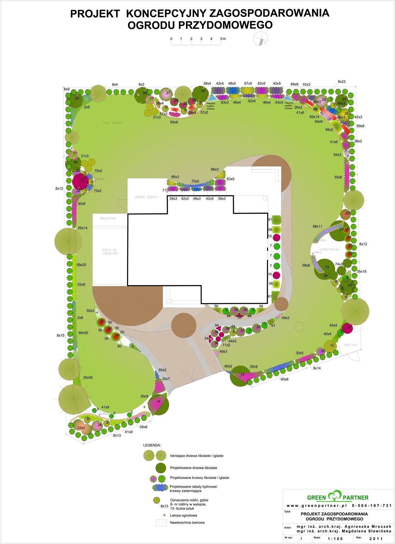 Projekt ogrodu Mińsk Mazowiecki projekt-11
