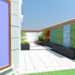 Projekt nowoczesnego tarasu w Aninie