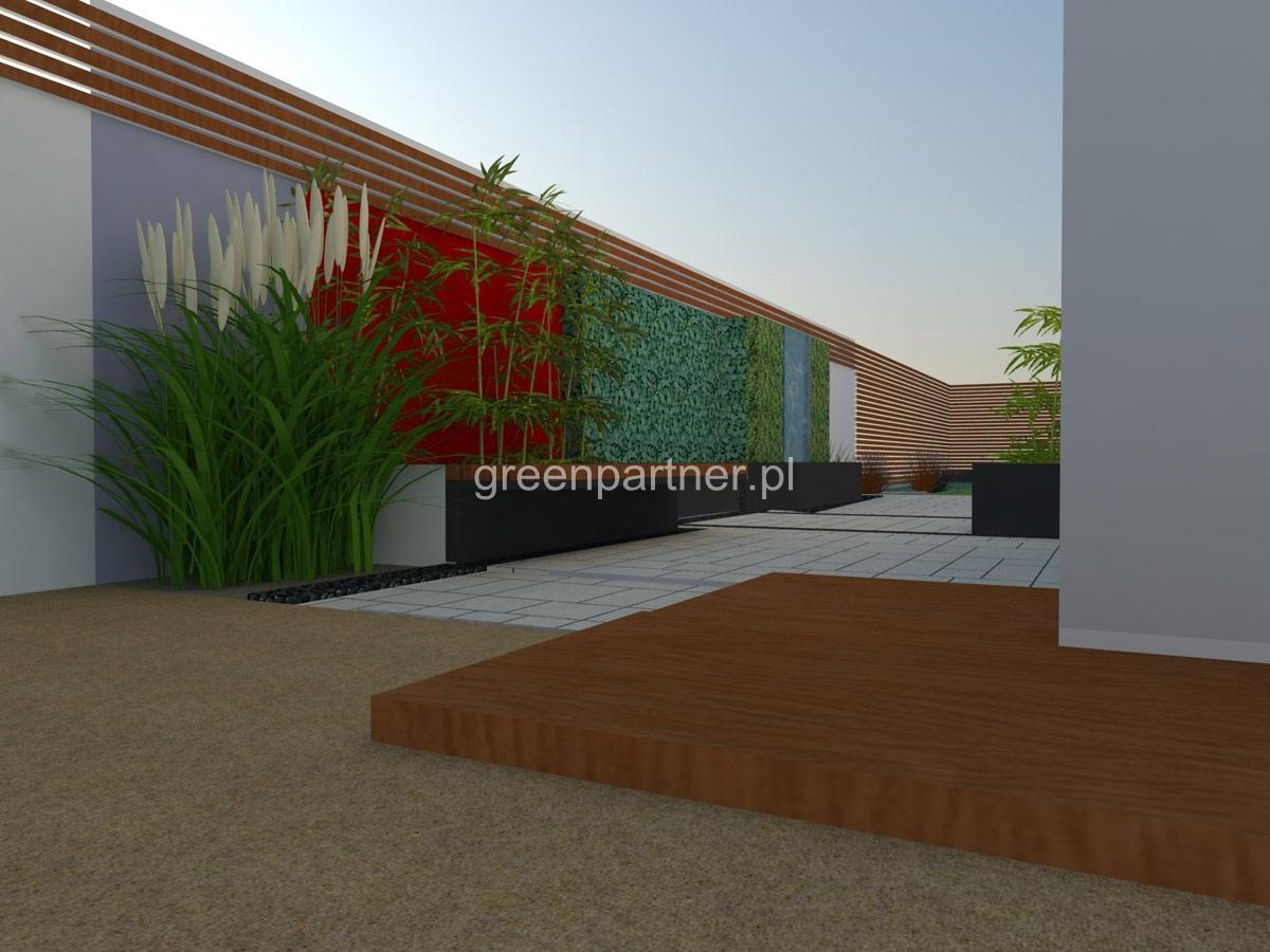 Projekt ogrodu w Aninie