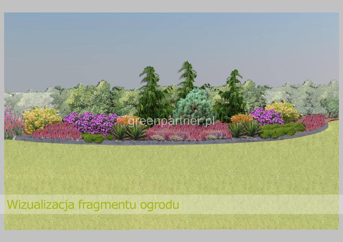 Wizualizacja ogrodu Stanisławów