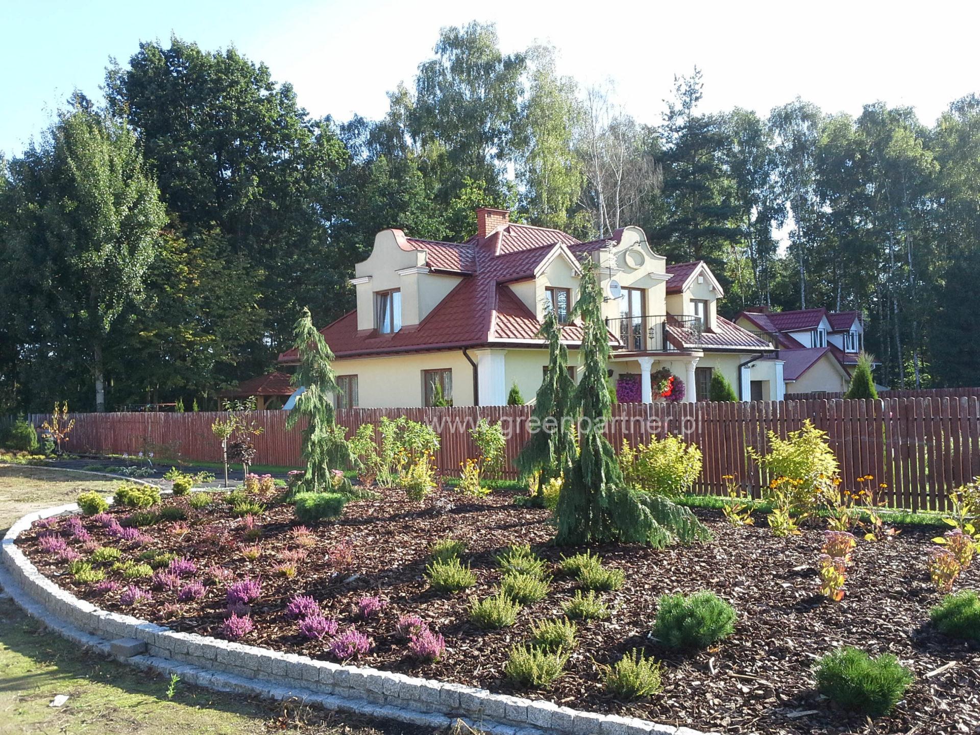 Projekt i realizacja ogród w Stanisławowie