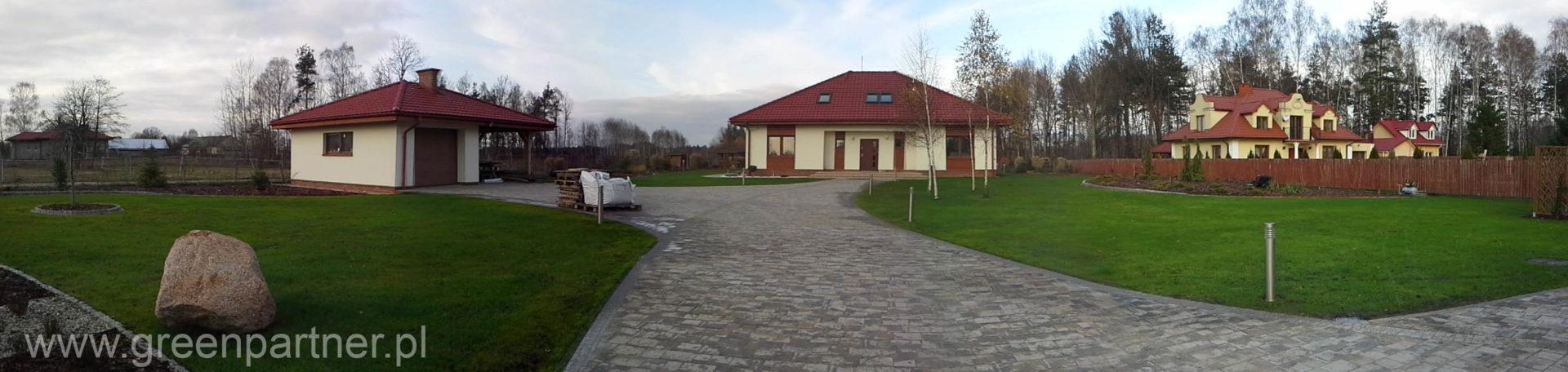 Ogród w Stanisławowie