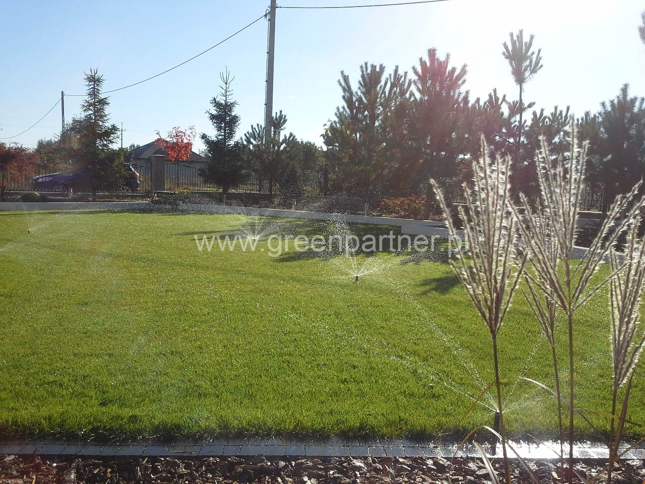 Projekt i realizacja nawadniania ogrodu Mińsk Mazowiecki