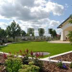 Ogród nowoczesny Mińsk Mazowiecki